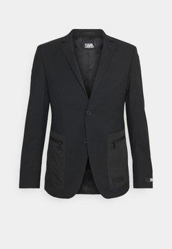 KARL LAGERFELD - JACKET NILE - Blazer jacket - black