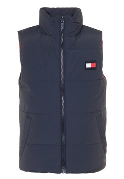 Tommy Hilfiger - COLORBLOCK REVERSIBLE VEST - Smanicato - blue