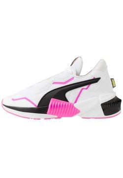 Puma - PROVOKE XT - Trainings-/Fitnessschuh - white/black/luminous pink
