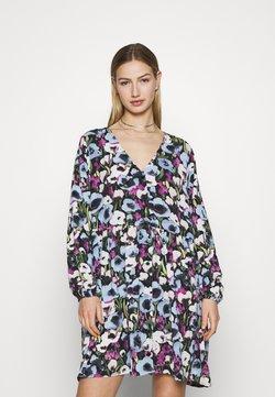 Monki - TORBORG DRESS - Freizeitkleid - blue poppy