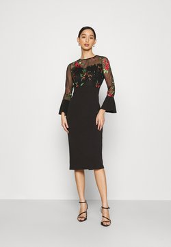 WAL G. - MIDI DRESS - Cocktail dress / Party dress - black