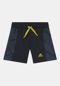 adidas Performance - UNISEX - Urheilushortsit - legend ink/acid yellow