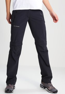 Vaude - WOMENS FARLEY STRETCH ZIP PANTS - Stoffhose - black
