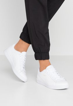 Puma - SMASH - Baskets basses - white