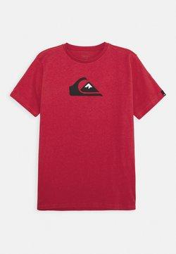Quiksilver - SCREEN TEE - T-shirt print - american red
