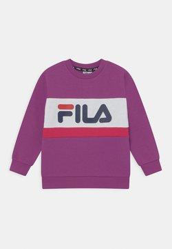 Fila - CARL BLOCKED CREW UNISEX - Sudadera - purple cactus flower/bright white/bright rose