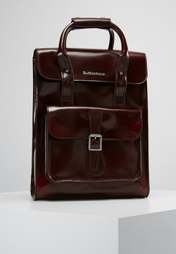 Dr. Martens - SMALL BACKPACK - Reppu - cherry red cambridge brush