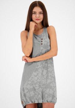 alife & kickin - Robe en jean - light grey denim