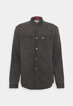 Tommy Jeans - CLASSIC - Camisa - black denim