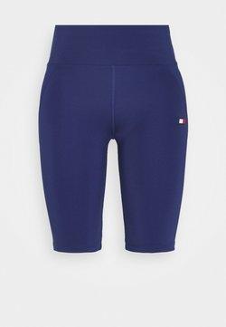 Tommy Sport - LONG SHORT - Tights - blue