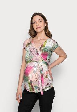 9Fashion - SOLANGE  - T-Shirt print - mottled light pink