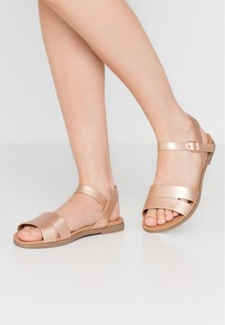 New Look Wide Fit - WIDE FIT GREAT - Sandales - rose gold