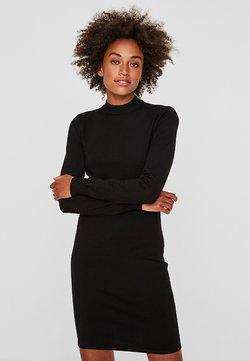 Noisy May - NMCIRUS FUNNEL NECK DRESS - Etui-jurk - black