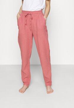 Marks & Spencer London - MUSLIN PANT - Nachtwäsche Hose - pink