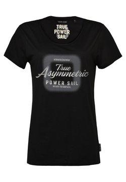 CODE | ZERO - T-shirt con stampa - black