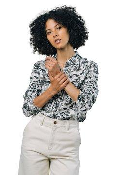 Brava Fabrics - WILDLIFE - Camicia - white