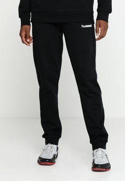 Hummel - HMLGO COTTON PANT - Jogginghose - black