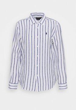 Polo Ralph Lauren - STRIPE LONG SLEEVE - Hemdbluse - white/blue