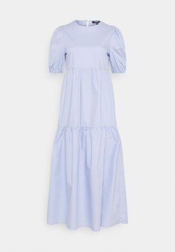 Missguided Tall - MIDAXI SMOCK DRESS - Maxikleid - baby blue