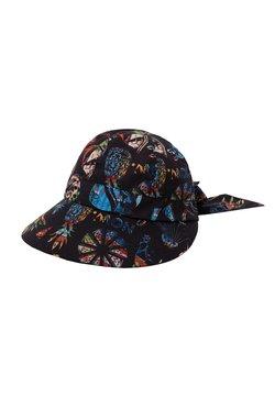 Desigual - HAT TROPICUBAN PRINT - Hattu - black