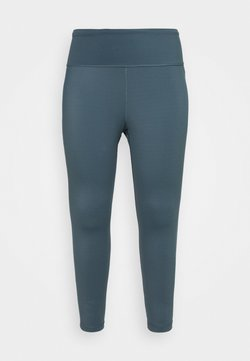 adidas Performance - SOLID 7/8 - Tights - legacy blue