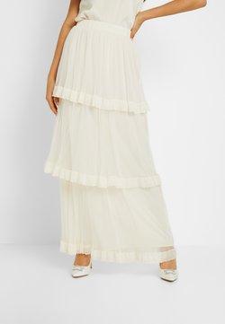 YAS - YASFRANCES SKIRT - Maxi skirt - star white