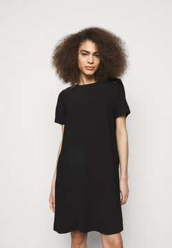 KARL LAGERFELD - DRESS PLEATED BACK - Sukienka koktajlowa - black