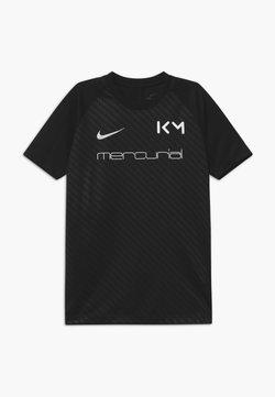 Nike Performance - KYLIAN MBAPPE - T-shirt z nadrukiem - black/white