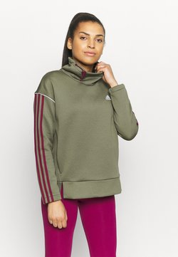 adidas Performance - Collegepaita - olive