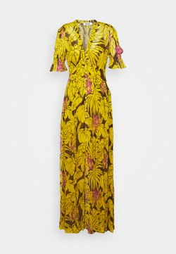 Diane von Furstenberg - ERICA LONG - Maxikleid - palm large yellow