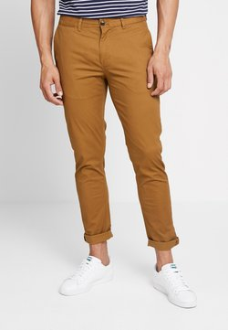 Scotch & Soda - MOTT CLASSIC SLIM FIT - Chinot - walnut