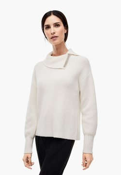 s.Oliver BLACK LABEL - Pullover - soft white