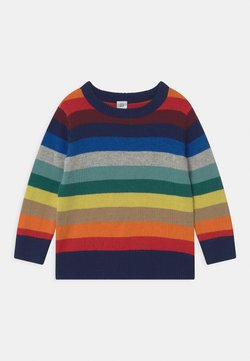 GAP - TODDLER BOY HAPPY STRIPE CREW - Jersey de punto - multi-coloured