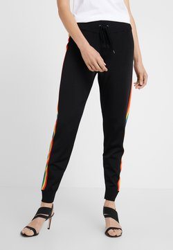 MICHAEL Michael Kors - RAINBOW STRIPE PANTS - Jogginghose - black