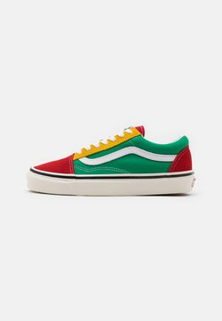 Vans - ANAHEIM OLD SKOOL 36 DX UNISEX - Skate shoes - green/yellow/red