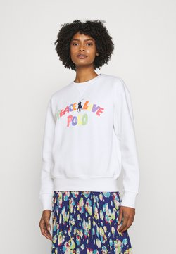 Polo Ralph Lauren - SEASONAL LONG SLEEVE - Sweatshirt - white