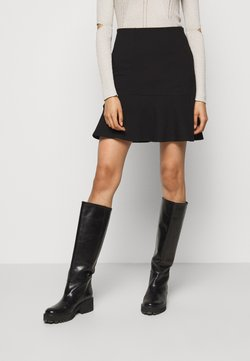 Patrizia Pepe - GONNA SKIRT - A-Linien-Rock - nero
