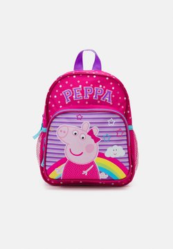 Kidzroom - BACKPACK PEPPA MAKE BELIEVE UNISEX - Ryggsäck - pink