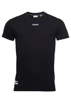 Superdry - Print T-shirt - black