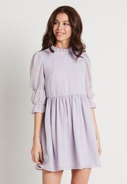 NA-KD - MINI DRESS - Vestido de cóctel - dusty lilac