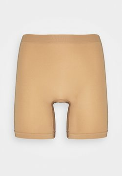 Lindex - SEAMLESS BIKER HIGH - Panties - beige