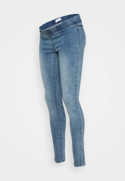 MAMALICIOUS - MLLOLA - Jeggings - medium blue denim