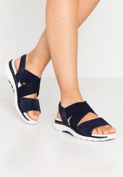Gabor Comfort - Korkeakorkoiset sandaalit - blue
