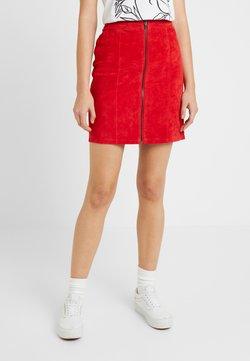 Vila - Mini skirt - racing red
