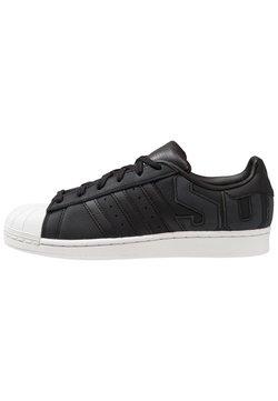 adidas Originals - SUPERSTAR - Sneaker low - core black/crystal white