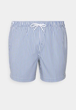 Abercrombie & Fitch - PULL ON STRIPE - Badeshorts - blue