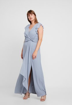 TFNC Curve - JUBA - Juhlamekko - grey blue