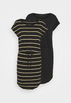 ONLY - ONLMAY DRESS 2PACK  - Jerseyjurk - black/double yolk