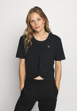 Calvin Klein Performance - SHORT SLEEVE - Camiseta estampada - black