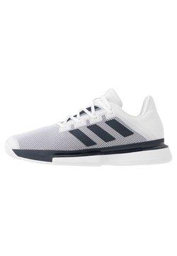 adidas Performance - SOLEMATCH BOUNCE - Scarpe da tennis per tutte le superfici - footwear white/legend ink